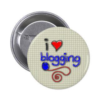 I Love Blogging Pin