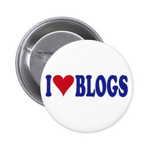I Love Blogs Pins