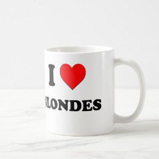 I Love Blondes Coffee Mug