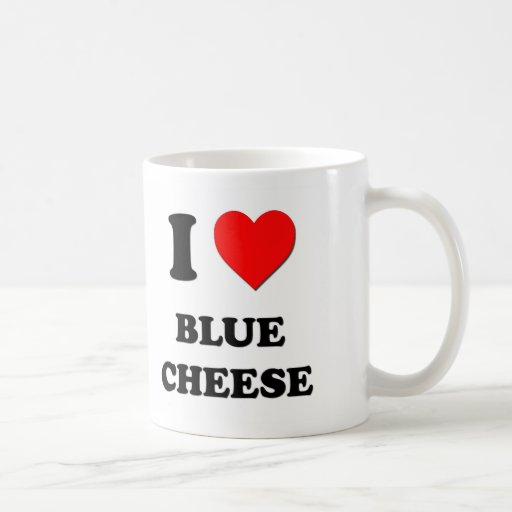 I Love Blue Cheese Mugs