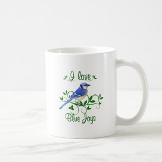 I LOVE BLUE JAYS COFFEE MUG