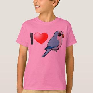 I Love Blue Quakers T-Shirt