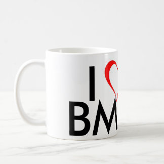 I Love BMX Coffee Mug