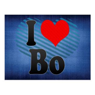 I Love Bo, Sierra Leone Postcard