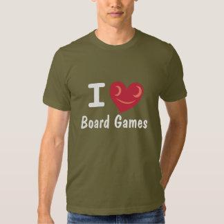 I Love Board Games Shirt