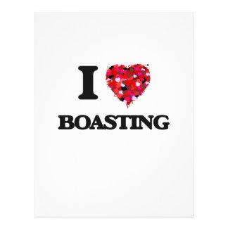 I Love Boasting Flyer