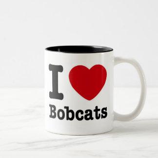 I Love Bobcats Mug