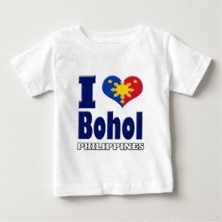 i love Bohol Philippines Tshirts