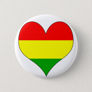 I Love Bolivia 2 Inch Round Button