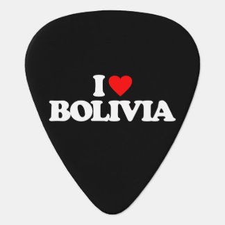I LOVE BOLIVIA GUITAR PICK