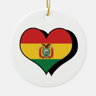 I Love Bolivia Ornament