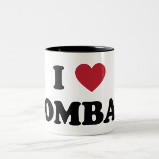 I Love Bombay India Two-Tone Coffee Mug