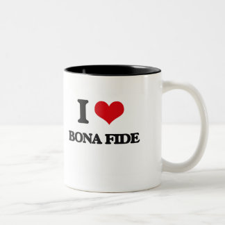 I Love Bona Fide Mugs
