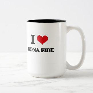 I Love Bona Fide Mug