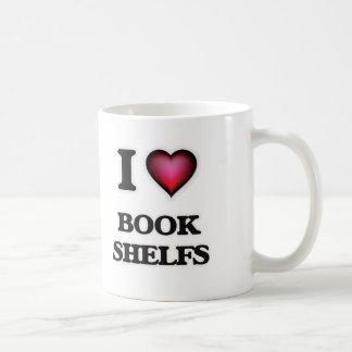 I Love Book Shelfs Coffee Mug