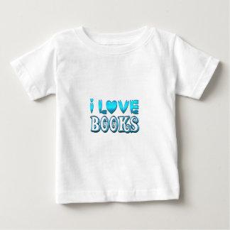 I Love Books Baby T-Shirt