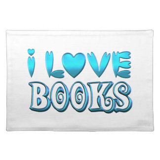 I Love Books Placemat