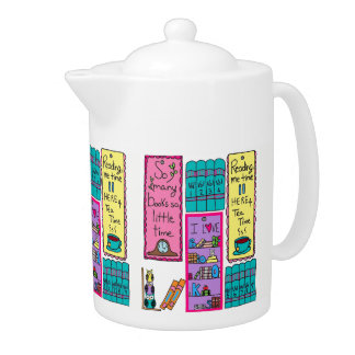 I Love Books TEAPOT