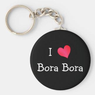 I Love Bora Bora Keychain