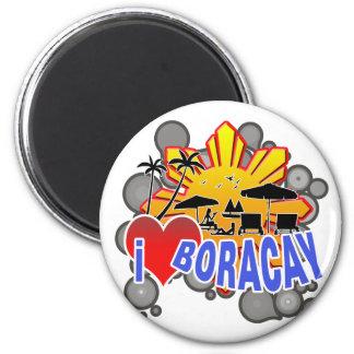 I Love Boracay Magnet