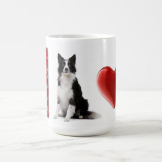 I Love Border Collies~Border Collie Mug