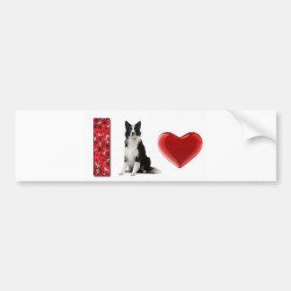 I Love Border Collies!!~Bumper Sticker Bumper Sticker