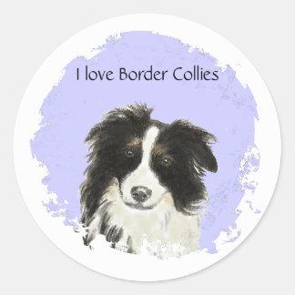 I love Border Collies  Sticker