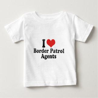 I Love Border Patrol Agents Baby T-Shirt