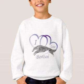 I Love Borzoi Sweatshirt