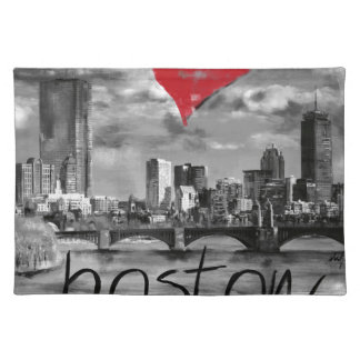 I love Boston Placemat
