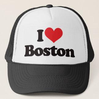 I Love Boston Trucker Hat