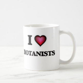 I Love Botanists Coffee Mug