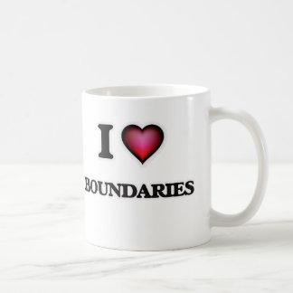 I Love Boundaries Coffee Mug