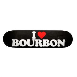 I LOVE BOURBON CUSTOM SKATE BOARD