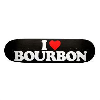 I LOVE BOURBON SKATE DECK