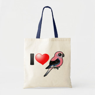 I Love Bourkies Tote Bag