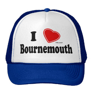 I Love Bournemouth Trucker Hat