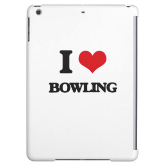 I Love Bowling Case For iPad Air
