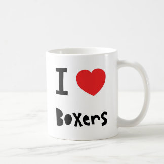 I love Boxers Coffee Mug