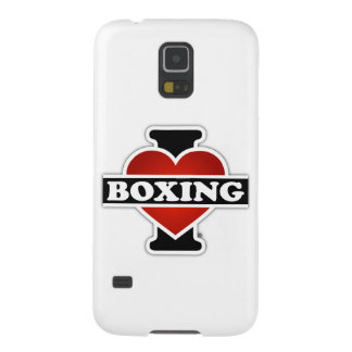 I Love Boxing Case For Galaxy S5