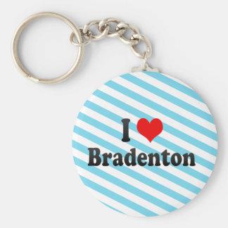 I Love Bradenton, United States Keychain