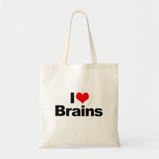 I LOVE BRAINS -.png Tote Bag