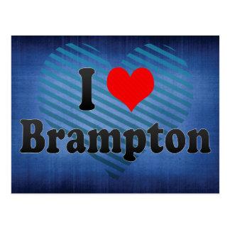 I Love Brampton, Canada. I Love Brampton, Canada Postcard