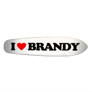 I LOVE BRANDY CUSTOM SKATEBOARD