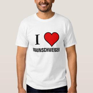 I LOVE BRAUNSCHWEIGER SHIRTS