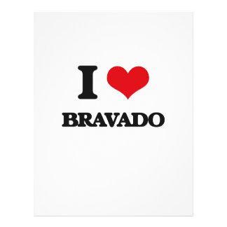 I Love Bravado Full Color Flyer