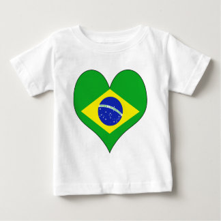 I Love Brazil Baby T-Shirt