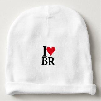 I Love Brazil BR Edition Baby Beanie