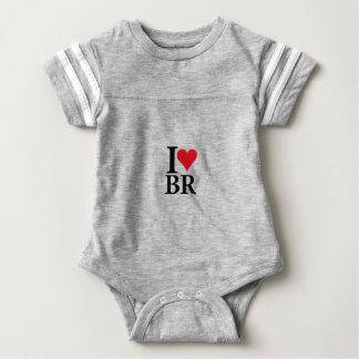 I Love Brazil BR Edition Baby Bodysuit