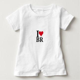 I Love Brazil BR Edition Baby Romper